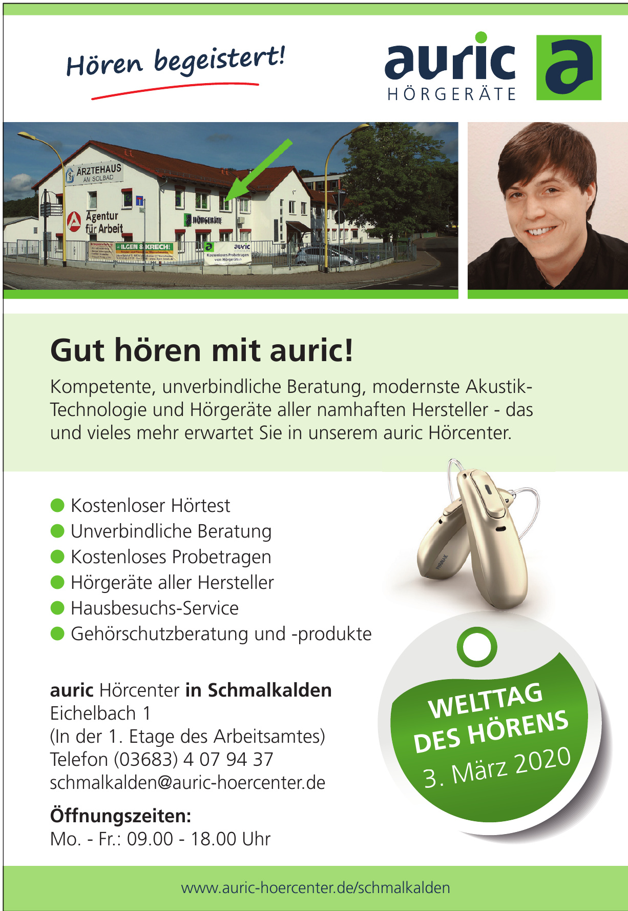 auric Hörcenter in Schmalkalden
