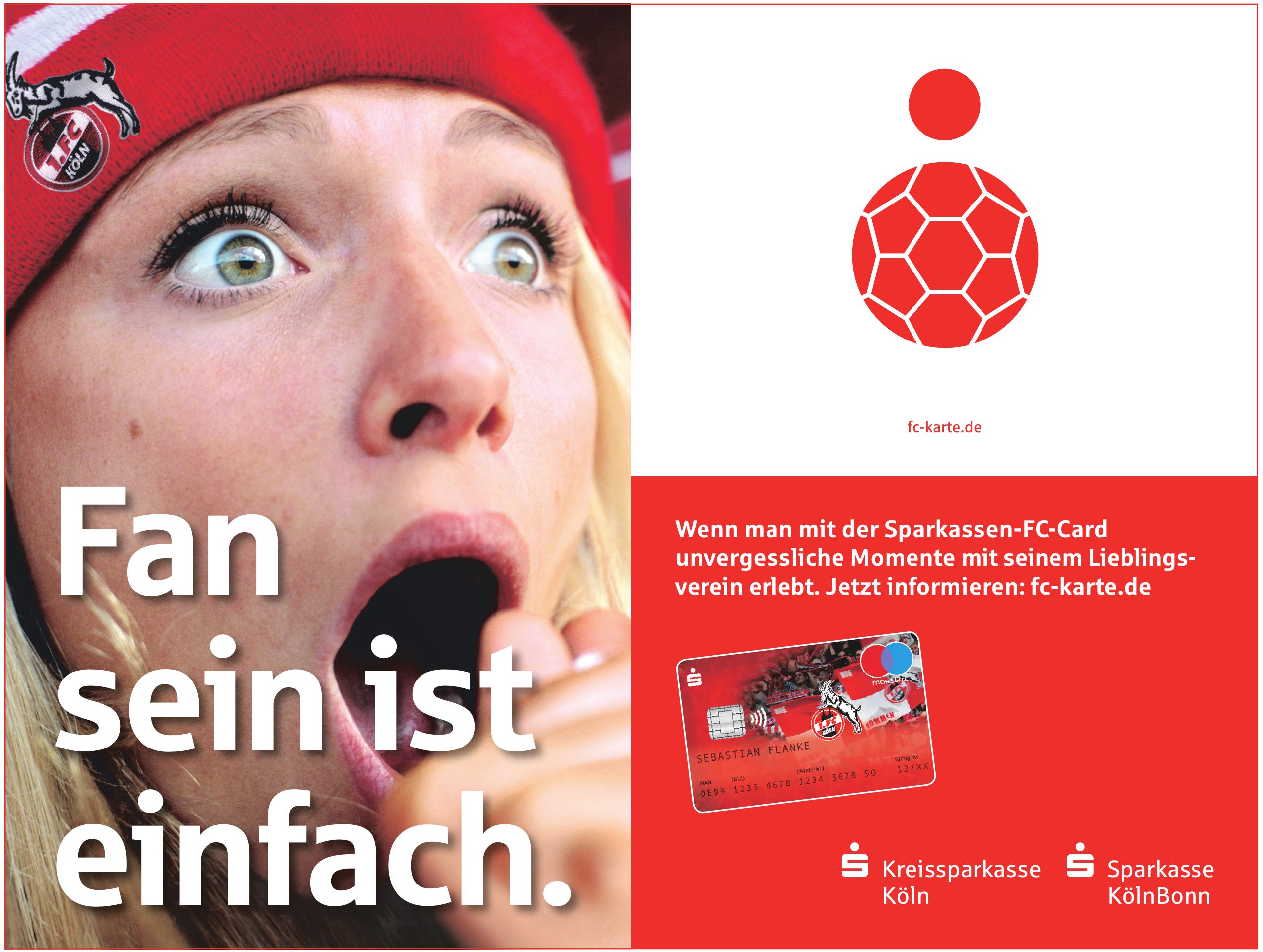 Sparkassen-FC-Card