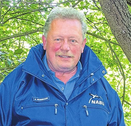Adolf Monninger ist Sprecher des Nabu-Kreisverbands und Vorsitzender der Ortsgruppe in Brackenheim.