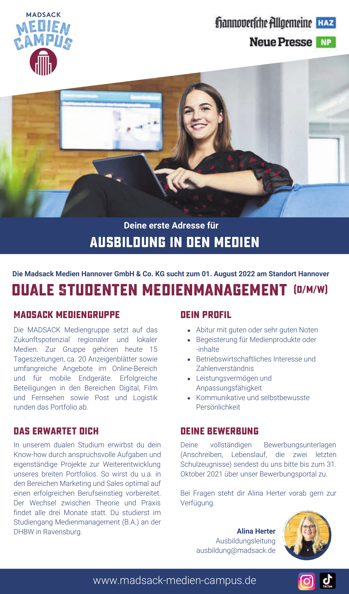 Die Madsack Medien Hannover GmbH & Co. KG