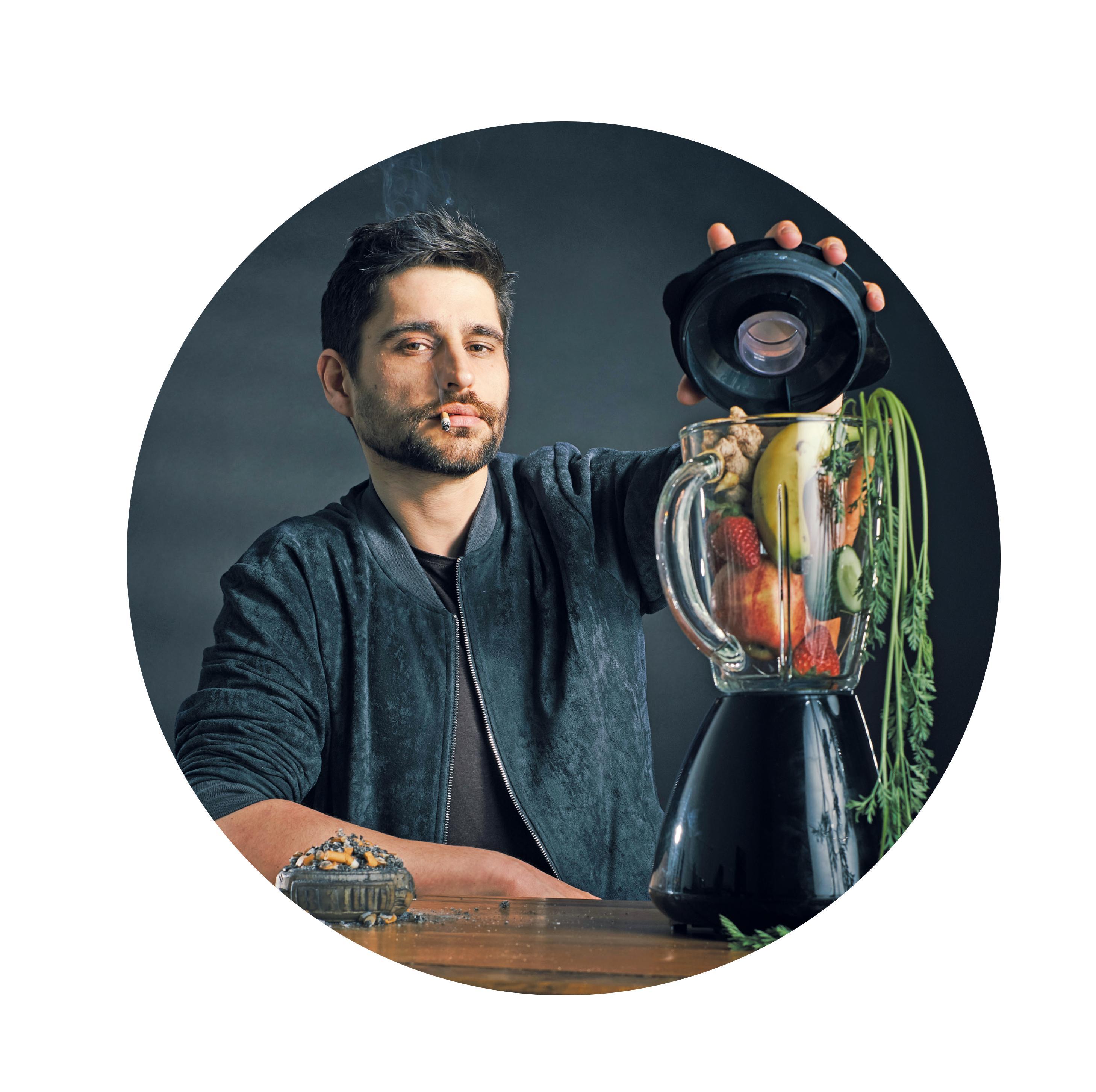 Mixt nicht nur Slam-Poetry und Comedy virtuos: Nektarios Vlachopoulos.