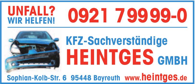 KFZ-Sachverständige Heintges GMBH