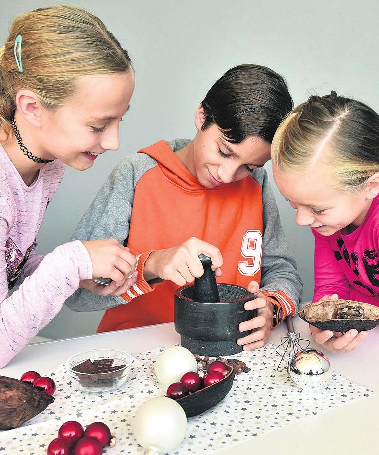 Das Phaeno lädt noch bis zum 6. Januar in die Schokoladen-Werkstatt ein. Foto: Lars Landmann