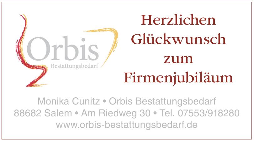Monika Cunitz • Orbis Bestattungsbedarf