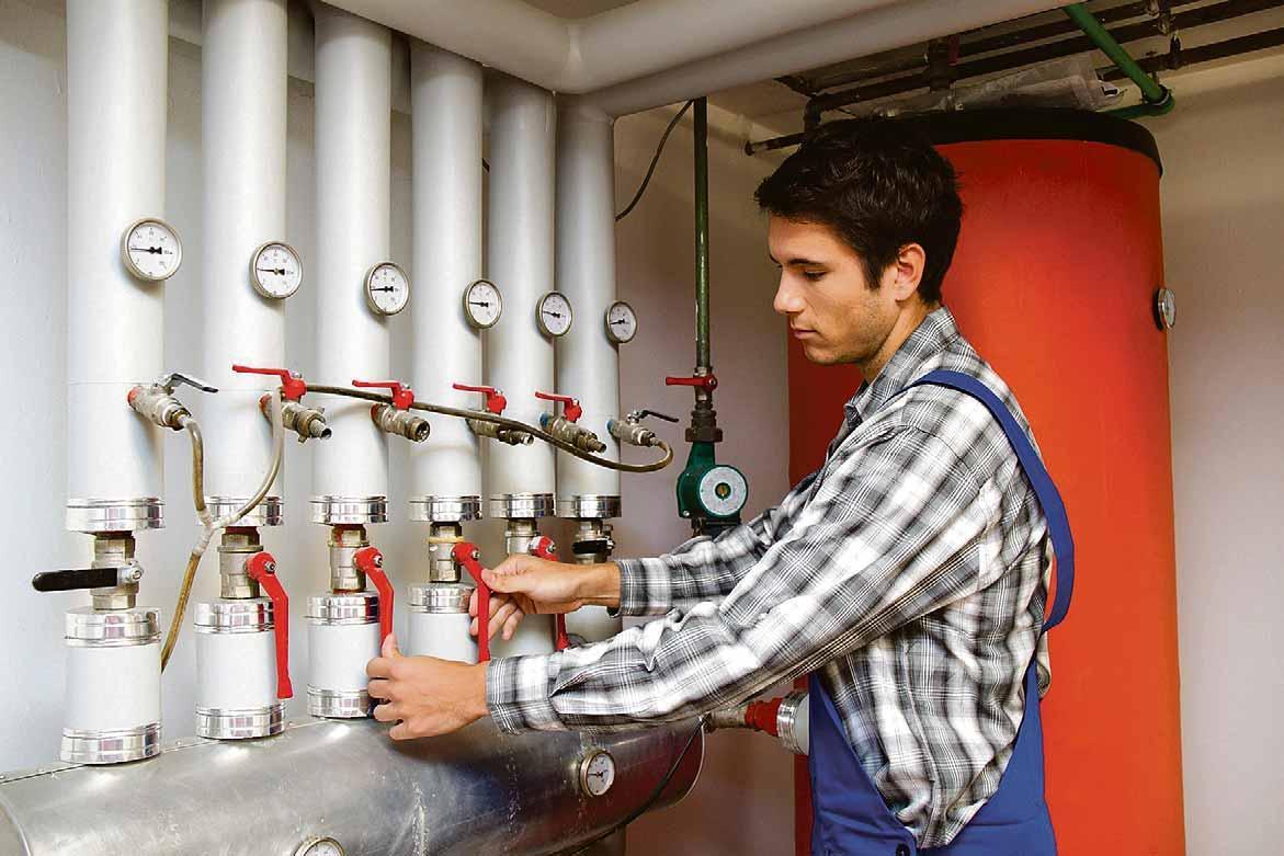 Eine Frage der Einstellung: Der hydraulische Abgleich sorgt für eine optimale Temperaturverteilung im Heizsystem. ZVSHK-Foto: Gina Sander
