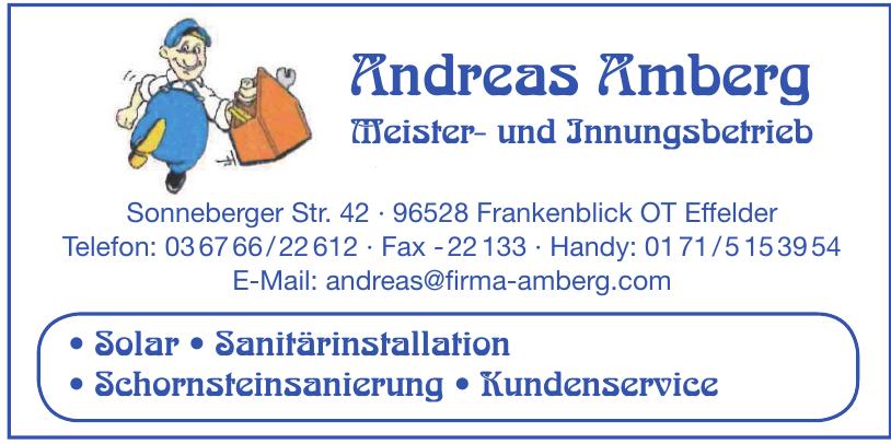 Andreas Amberg Meister- und Innungsbetrieb