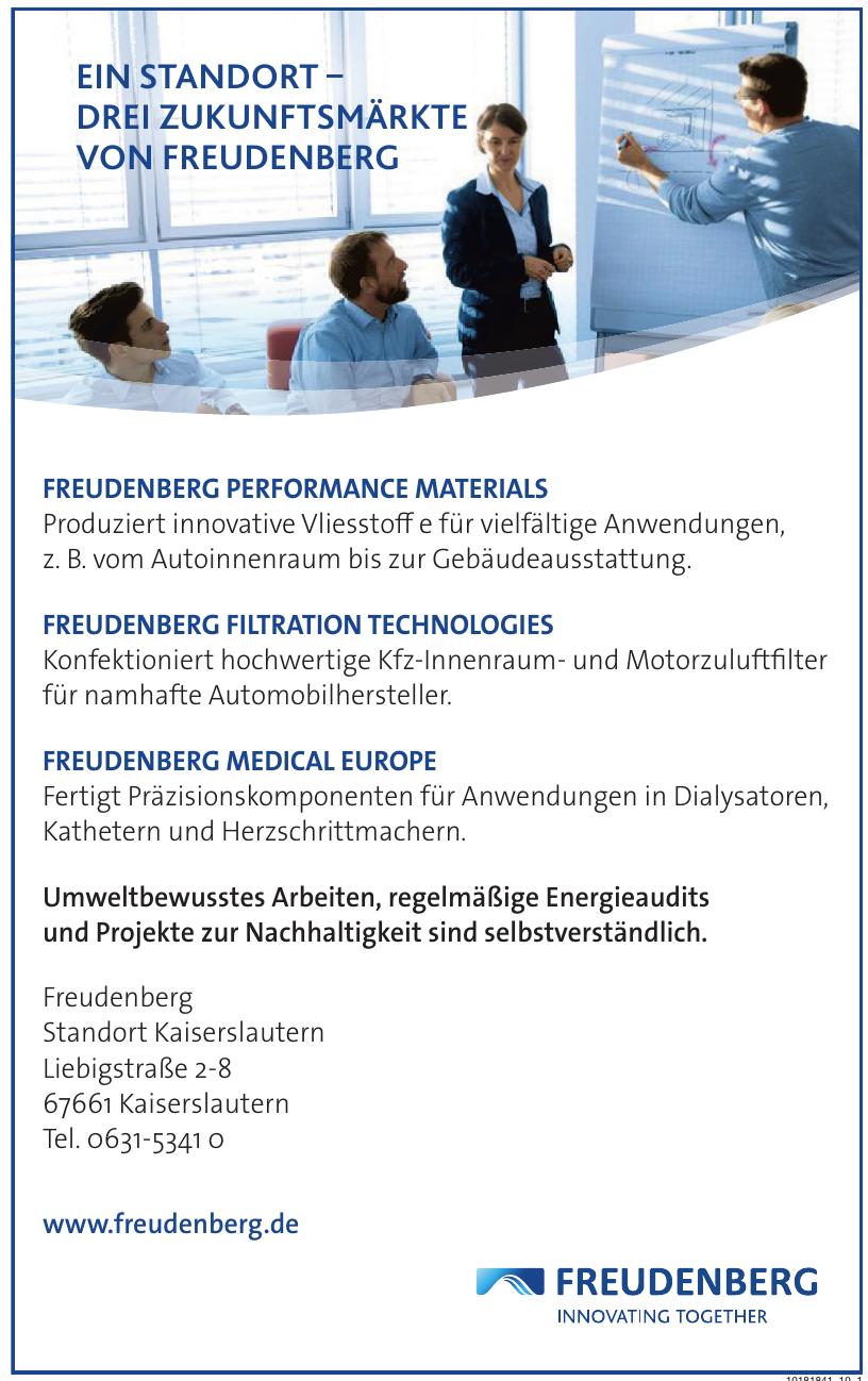 Freudenberg Standort Kaiserslautern