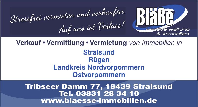 Bläße Hausverwaltung & Immobilien