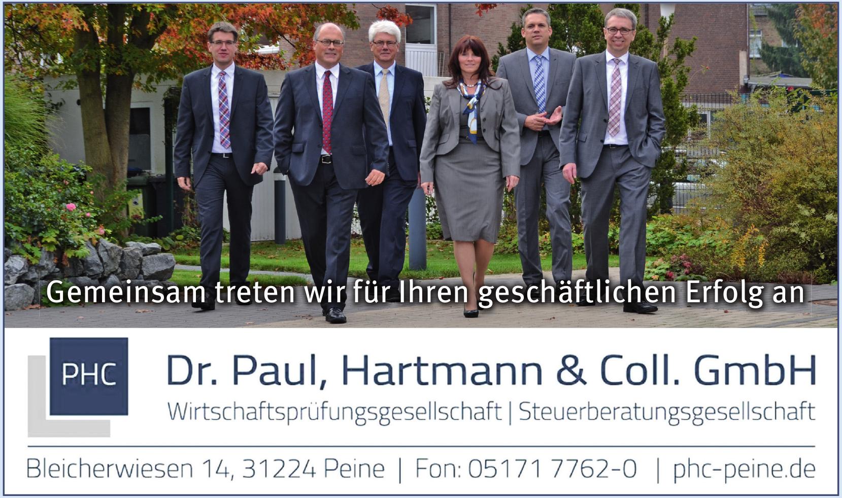 Dr. Paul, Hartmann & Coll. GmbH - PHC