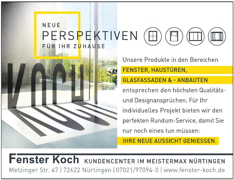 Fenster Koch
