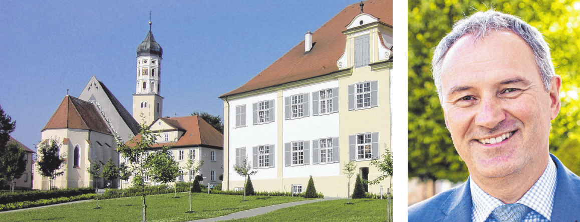 Eberhardzell hat das schönste barocke Rathaus im Landkreis Biberach und darüber hinaus, so Bürgermeister Guntram Grabherr. FOTOS: ARCHIV/CHRISTIAN KLOSE/PR
