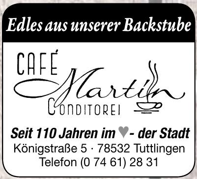 Café Martin Conditorei