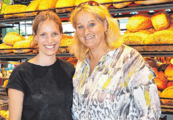 Auf dem Foto Renate Denzel mit Tochter Annabell Mager.Fotos: Rosa Laner