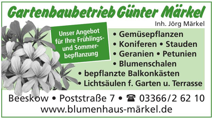 Gartenbetrieb Günter Märkel