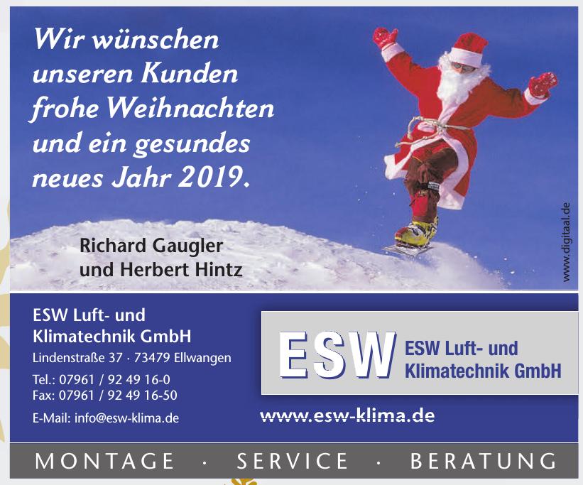 ESW Luft- und Klimatechnik GmbH