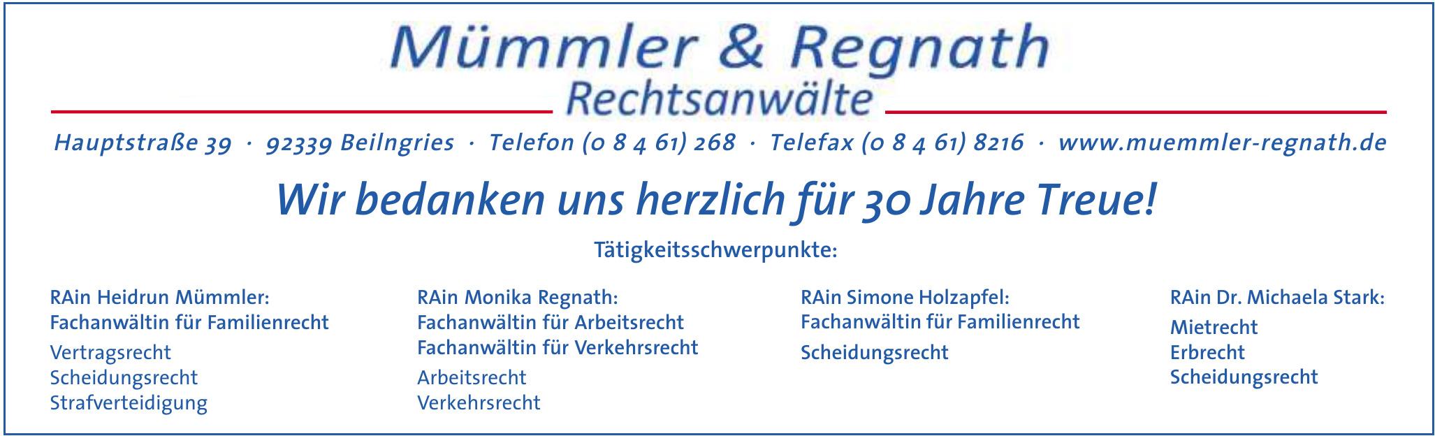 Mümmler & Regnath Rechsanwälte