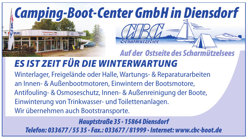 Camping-Boot-Center GmbH