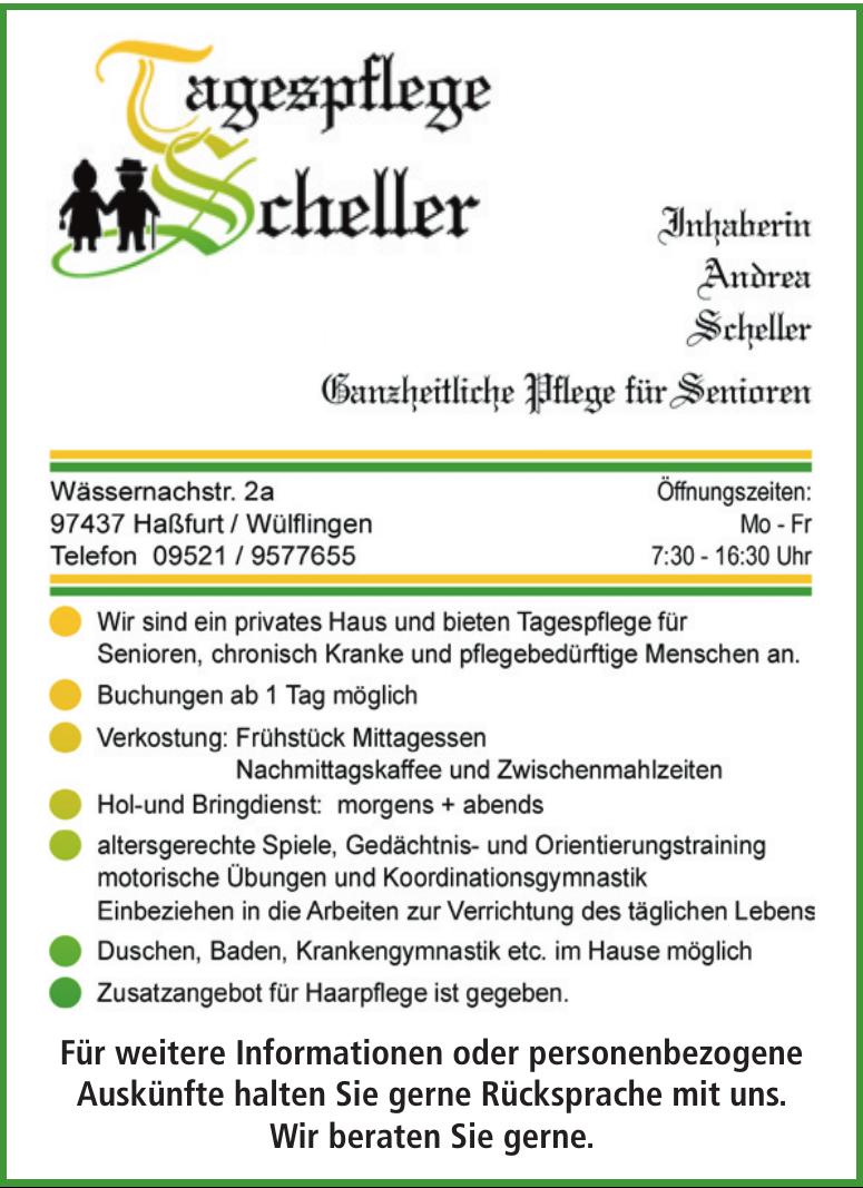 Tagespflege Scheller