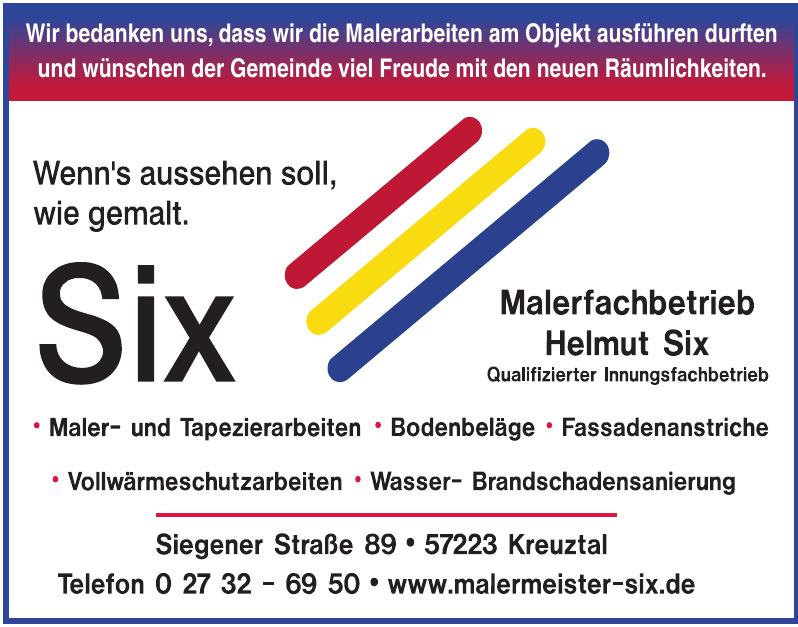 Malerfachbetrieb Helmut Six