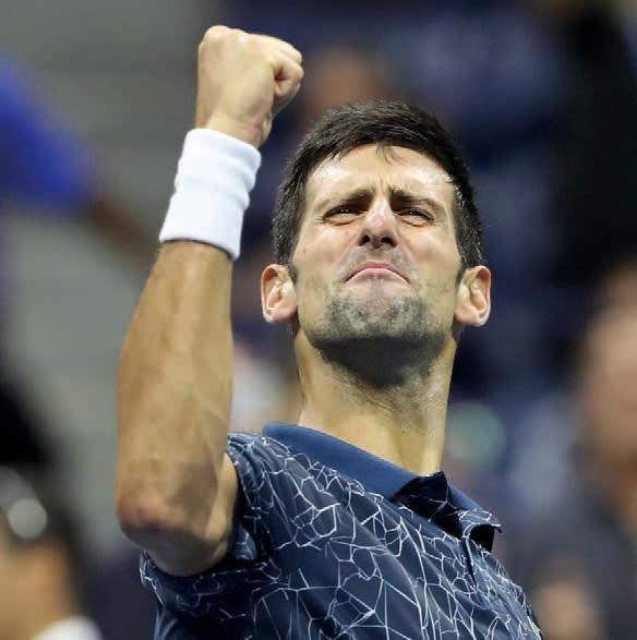Novak Djokovic scheint durch seine Verletzung leicht reizbar zu sein.Foto: Jürgen Hasenkopf