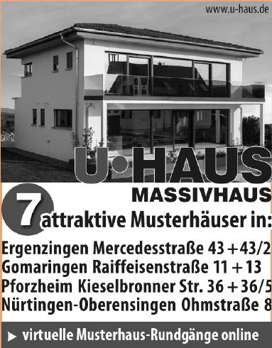 U Haus Massivhaus
