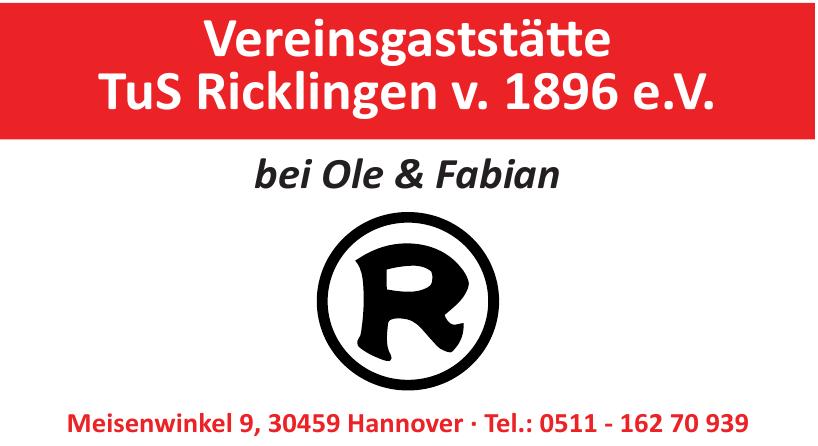 Vereinsgaststätte TuS Ricklingen v. 1896 e.V.