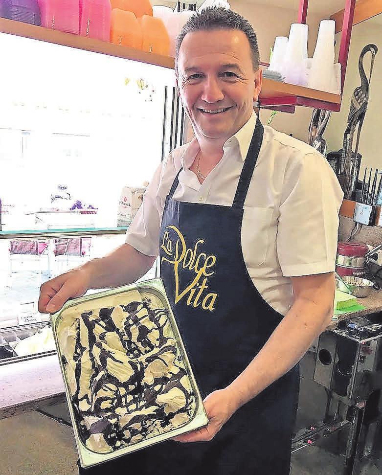 Das Team des La Dolce Vita verwöhnt Gäste täglich mit einer exquisiten Auswahl.