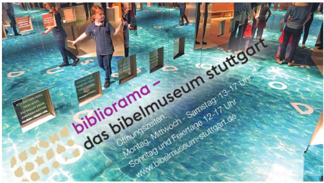Bibliorama - Das Bibelmuseum Stuttgart