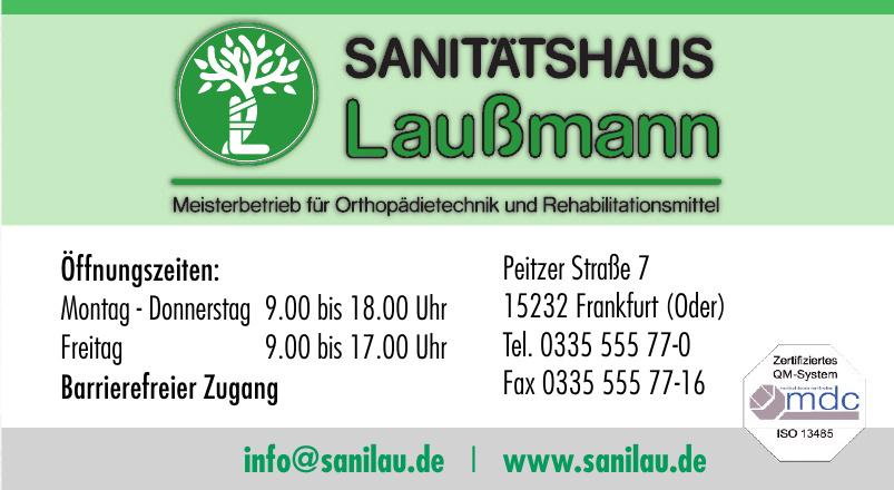 Sanitätshaus Laußmann