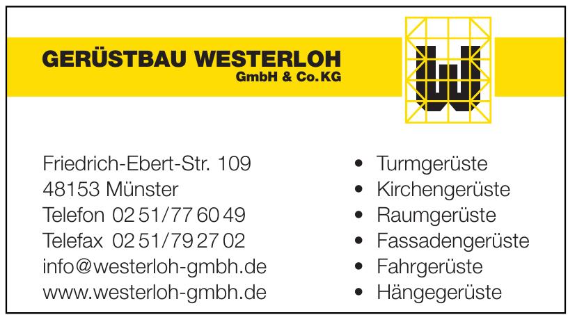 Gerüstbau Westerloh GmbH & Co. KG
