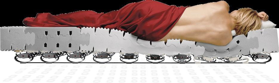 Im Schlaf sollte die Wirbelsäule ihre natürliche Haltung bewahren. FOTO: HFR