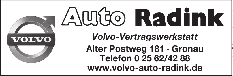 Auto Radink Volvo-Vertragswerkstatt