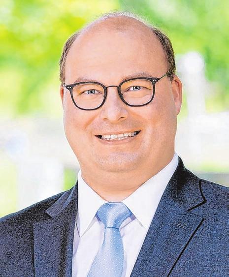 Armin Mößner, Bürgermeister der Stadt Murrhardt.