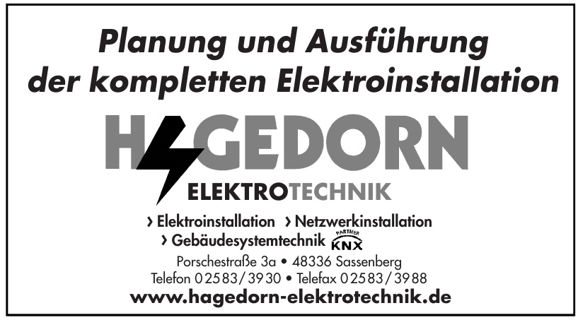 Hagedorn Elektrotechnik