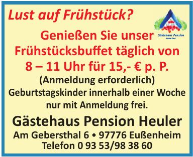 Gästehaus Pension Heuler