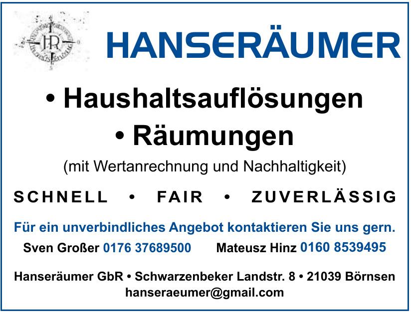 Hanseräumer GbR