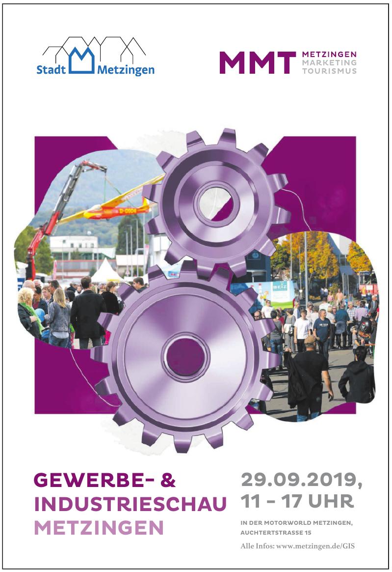 Gewerbe- & Industrieschau Metzingen