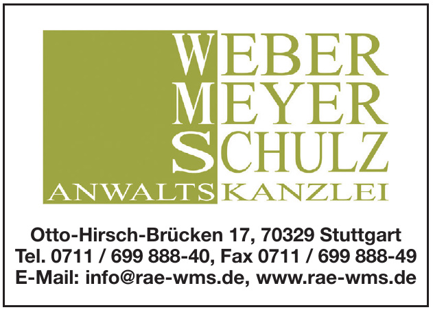 Weber Meyer Schulz Anwaltskanzlei