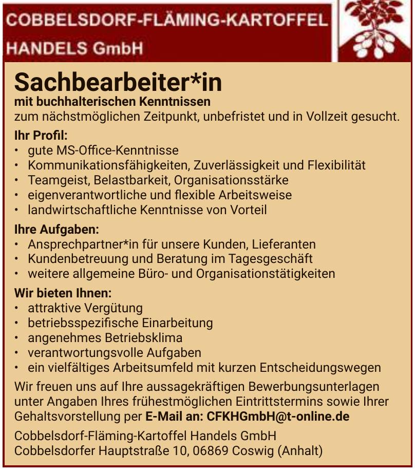 Cobbelsdorf-Fläming-Kartoffel Handels GmbH