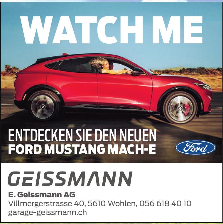 E. Geissmann AG