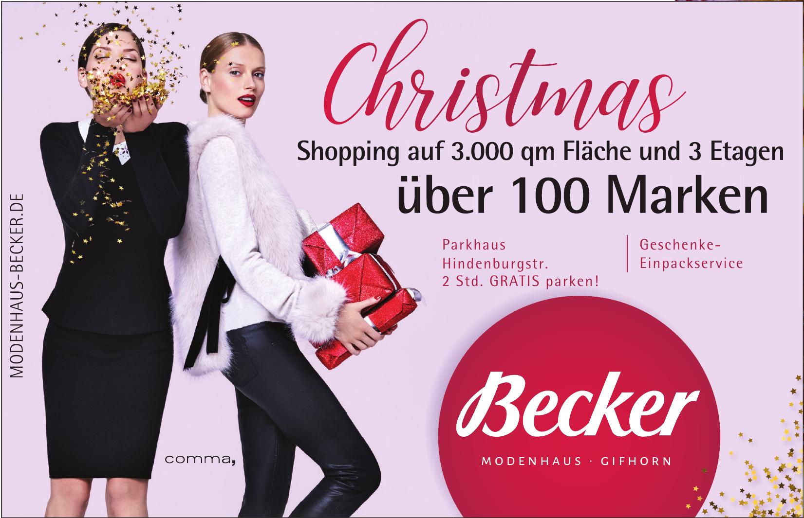 Becker Modenhaus