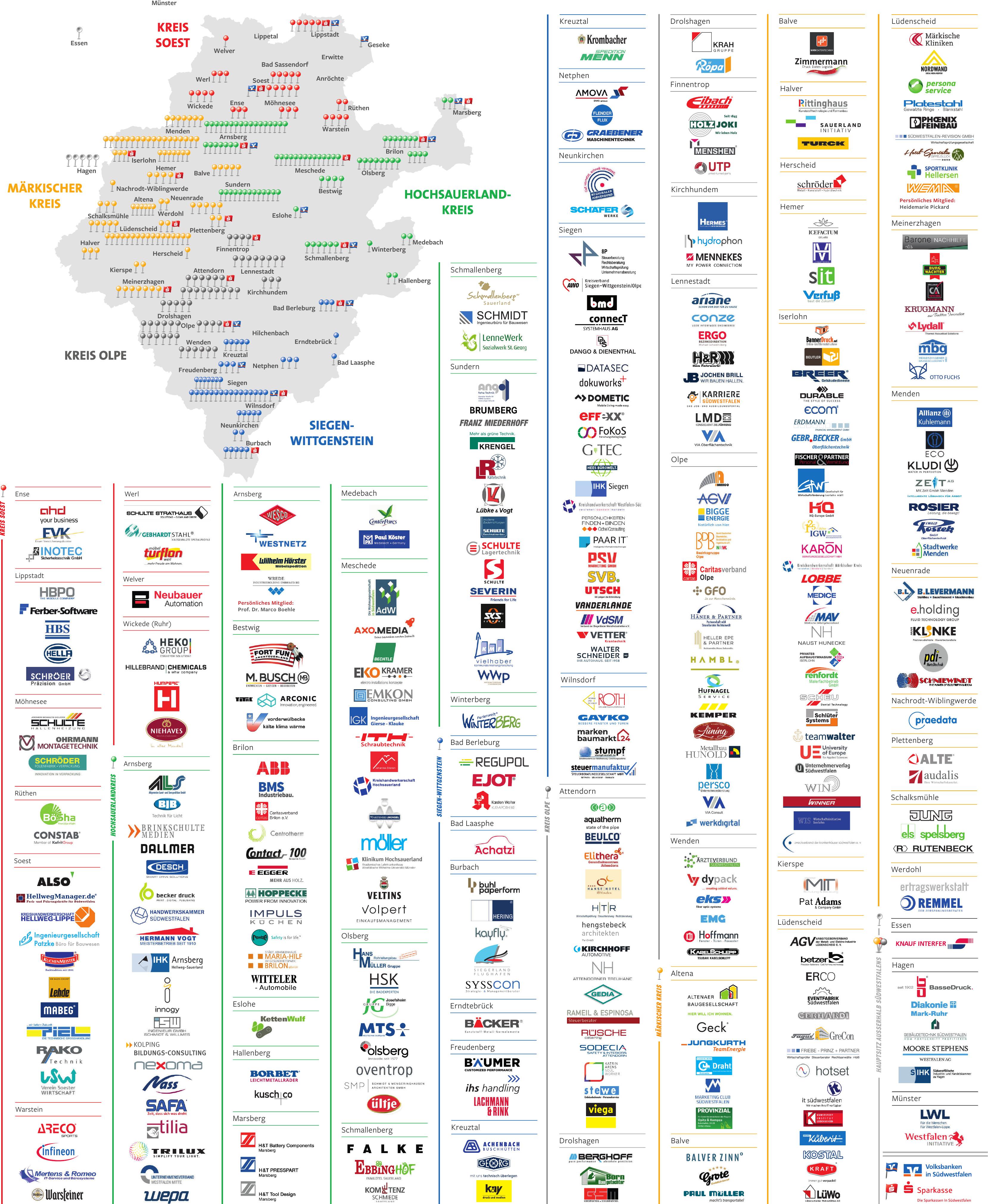 Über 360 attraktive Arbeitgeber auf einen Blick