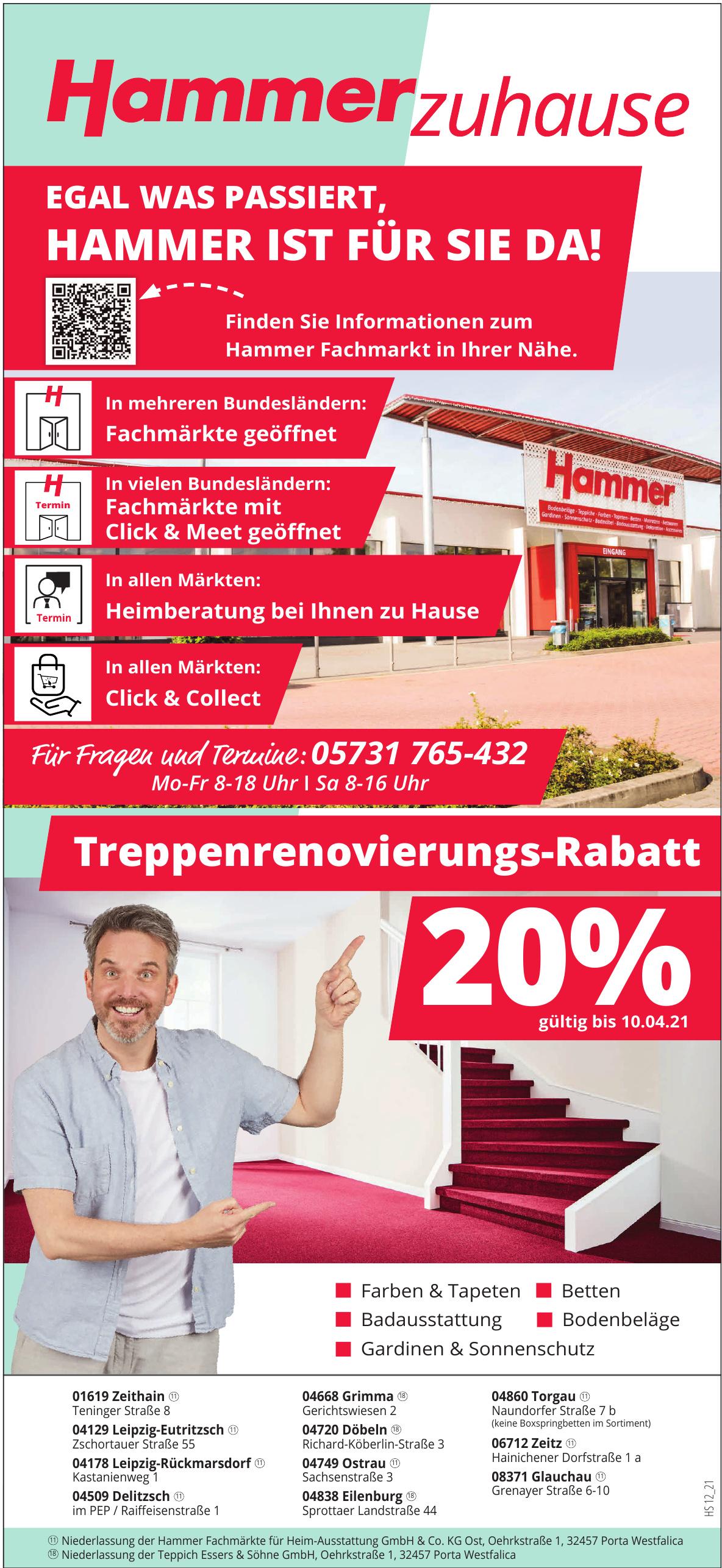 Hammer Fachmärkte für Heim-Ausstattung GmbH & Co. KG