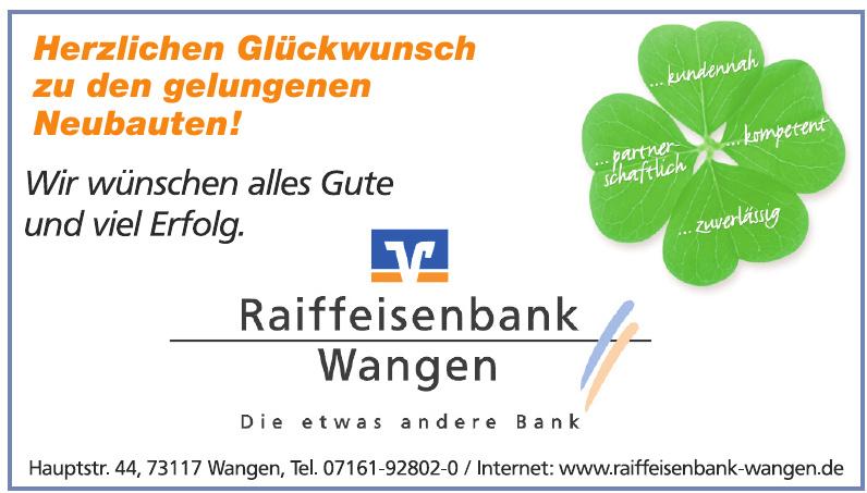 Raiffeisenbank Wangen