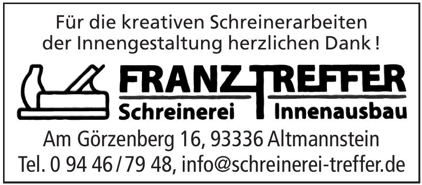 Franz Treffer Schreinerei Innenausbau