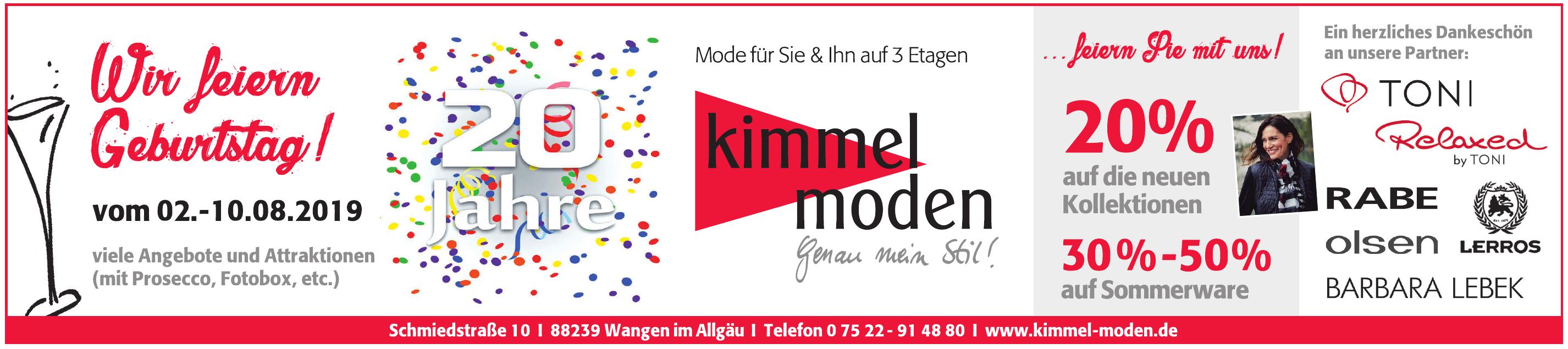 Kimmel Moden