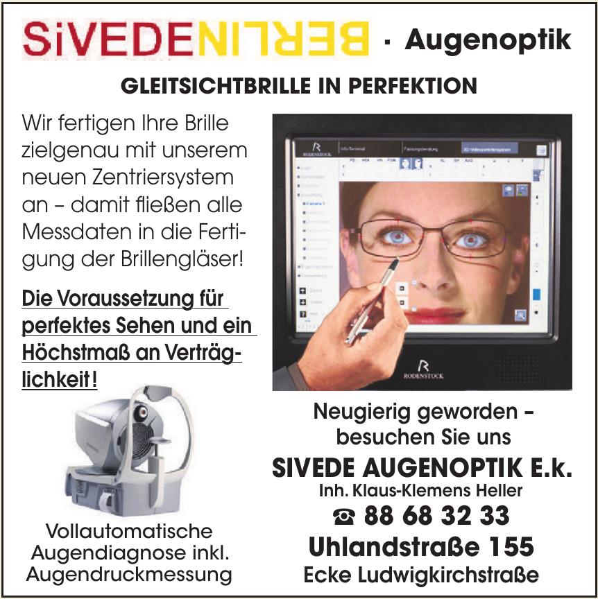 SiVEDE Berlin Augenoptik