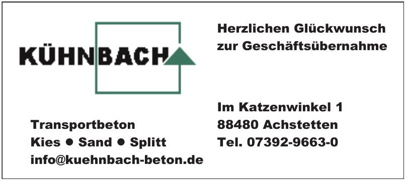 Kühnbach KG Kies + Beton