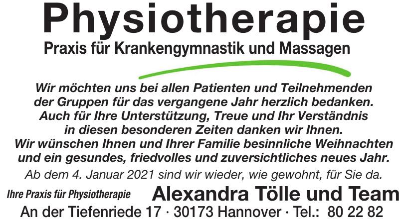Physiotherapie Praxis für Krankengymnastik und Massagen