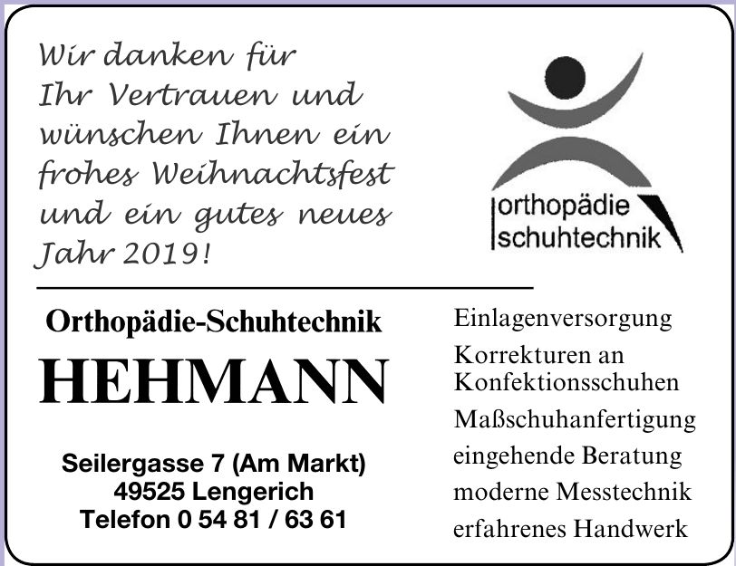 Hehmann Orthopädie